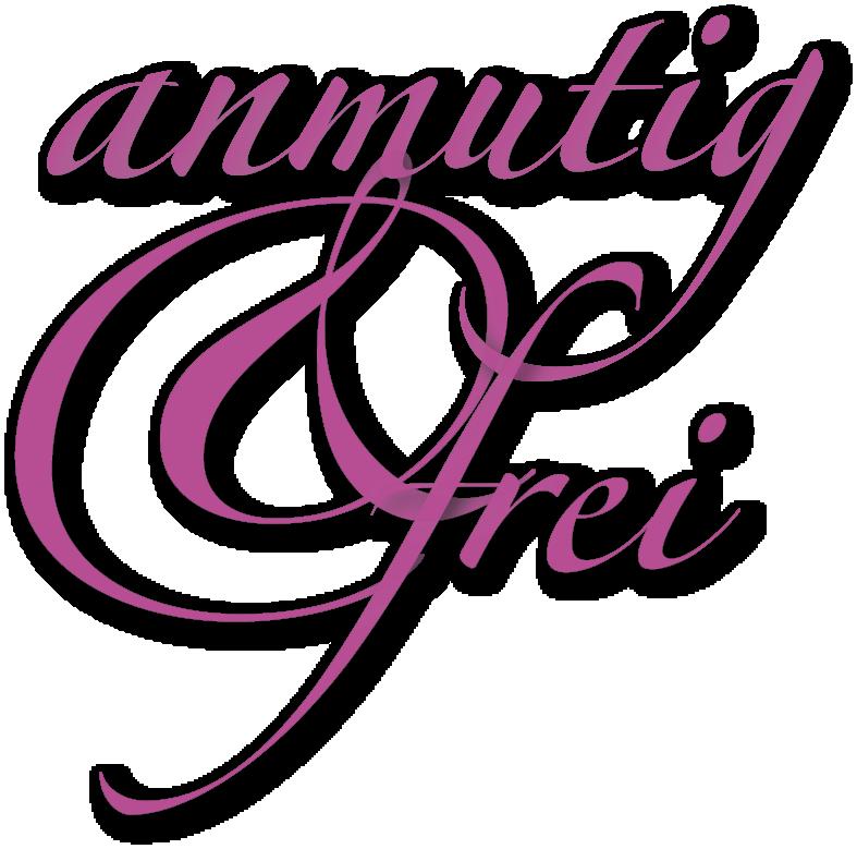anmutig & frei Logo - pink, freigestellt